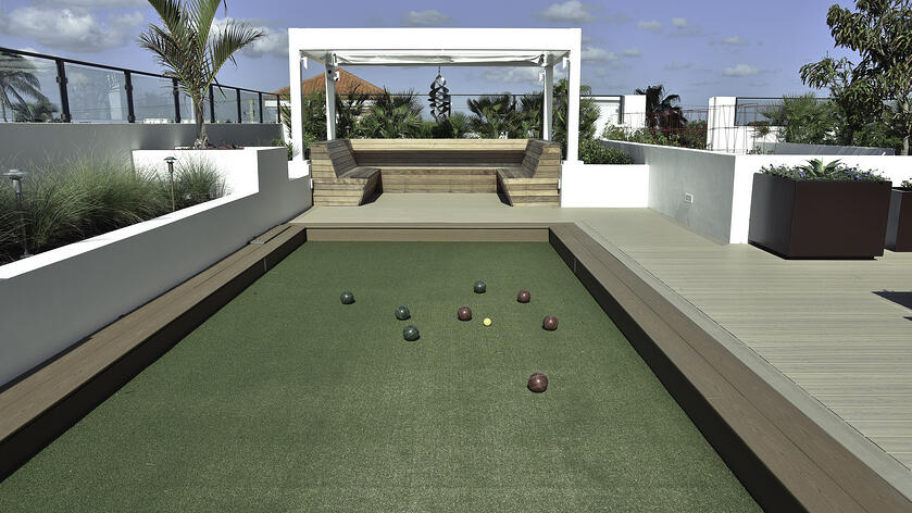 Recreational Rooftop Amenities Cornerstone To A Successful